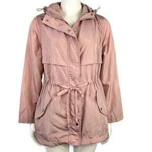 Cavalini Hooded Zip-Front Women's Jacket Size PM